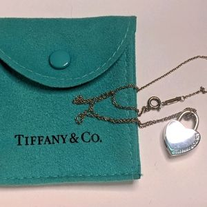 Tiffany and Co Return to Tiffany Heart Necklace